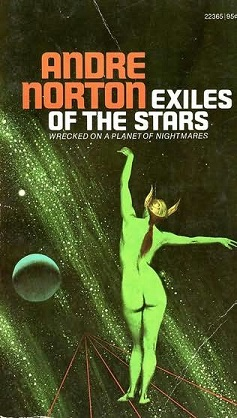 Cover of Exiles of the Stars