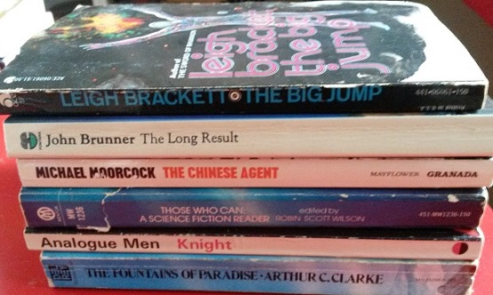 Books from the LonCon3 library