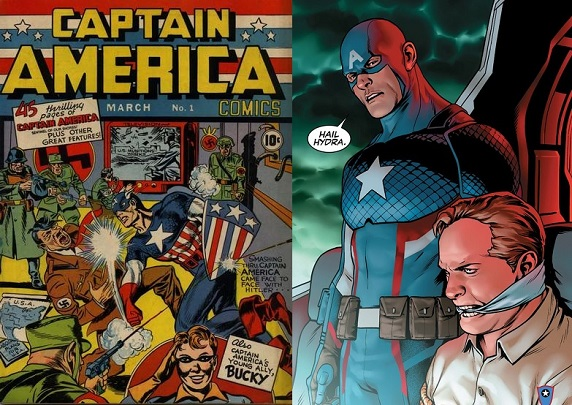 75 years of Captain America: from anti-fash to Hydra agent