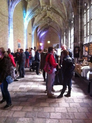 cloister halls at the beer festival