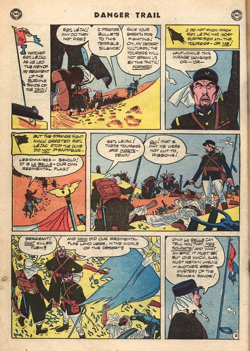 Alex Toth art from Danger Trail 3