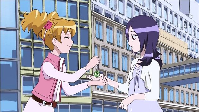 Fresh Precure: Love and Eas become friends