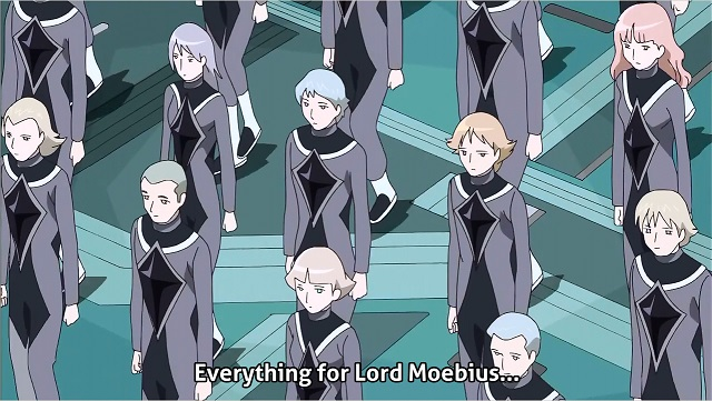 Fresh Precure: everything for Lord Moebius