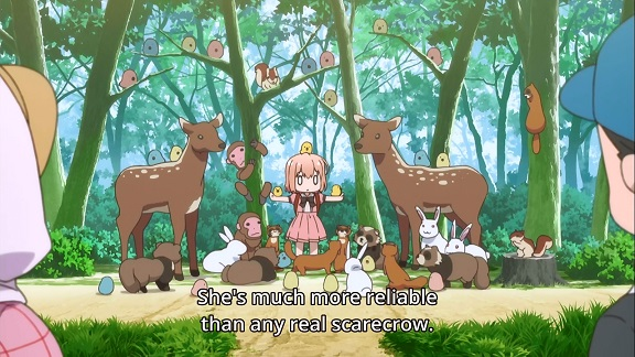 Hinako Note: friend to all the animals