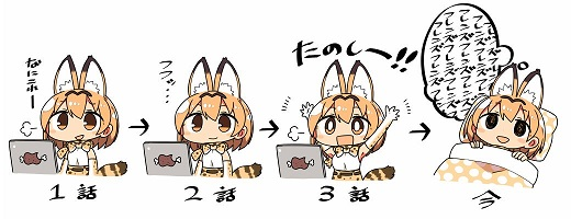 Kemono Friends: by the third episode you are hooked