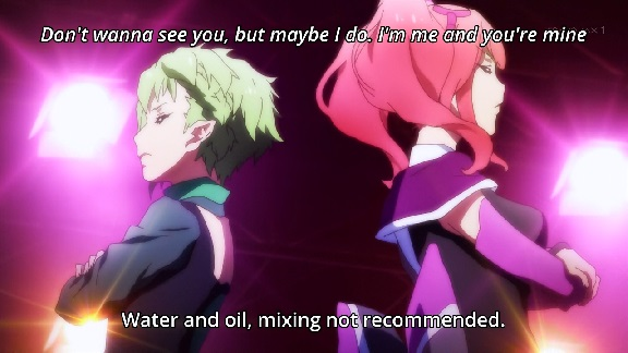 Macross Delta: water and oil