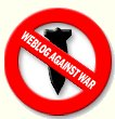 weblogs against war logo
