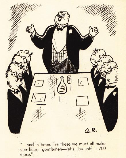 Cartoon from The Ruling Clawss by A. Redfield