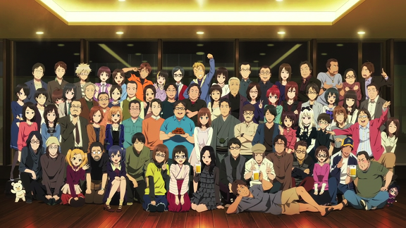 the Mushashino Animation crew
