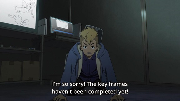 Tarō Takanashi having to apologise for one of his fuckups