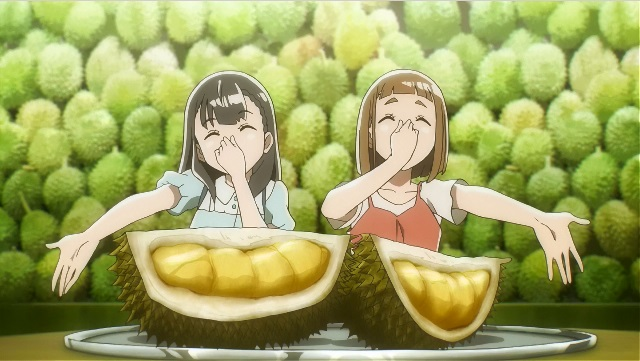 Sora yori mo Tooi Basho: Durian as punishment