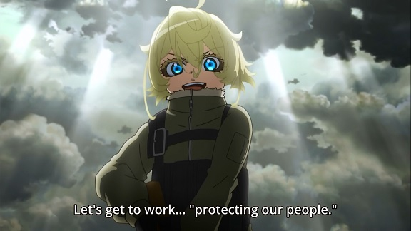 Youjo Senki: protecting our people