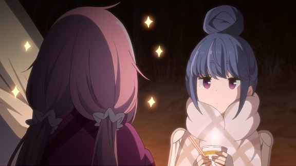 Yuru Camp: Nadeshiko and Rin